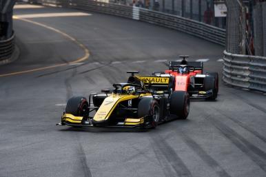 UNI VIRTUOSI de Guanyu Zhou (CHN) na etapa Mônaco em 25 de Maio de 2019 em Monte Carlo, Mônaco (Foto por Joe Portlock / LAT Images / FIA F2 Championship©)