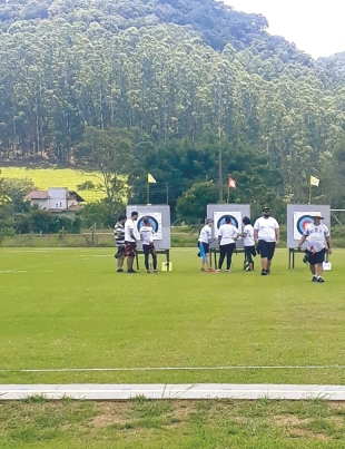 Bruna Pickler (BRA) [Gold Medal]Santa Catarina Archery Outdoor 30 meters Recurve Bow 1st Leg 2020