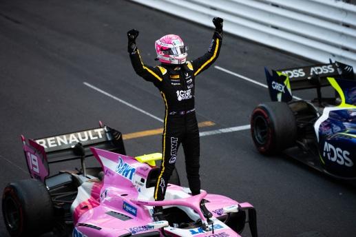 Anthoine Hubert (FRA, BWT ARDEN) Em 25 de Maio de 2019 em Monte Carlo, Mônaco (Foto por Joe Portlock / LAT Images / FIA F2 Championship©)
