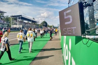 Linha de largada, Circuito Monza Eni, Número 5, Sérgio Sette Câmara (BRA, DAMS) (Photo credit: Bruna Pickler / CriaMacau™ / September 7th, 2019 at Monza, Italy)