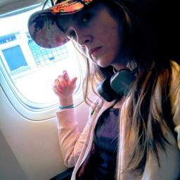 Bruna Pickler in Milano (airport - strict access)