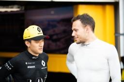 Guanyu Zhou (CHN, UNI VIRTUOSI) e Luca Ghiotto (ITA, UNI VIRTUOSI) em 25 de Maio de 2019 em Monte Carlo, Mônaco (Foto por Joe Portlock / LAT Images / FIA F2 Championship©)
