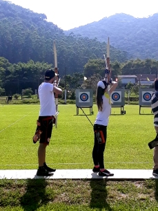 Bruna Pickler (BRA) [Gold Medal] Santa Catarina Archery Outdoor 30 meters Recurve Bow 1st Leg 2020