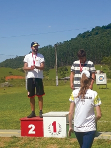 Bruna Pickler (Gold Medal) Santa Catarina Archery Outdoor 30 meters Recurve Bow 1st Leg 2020